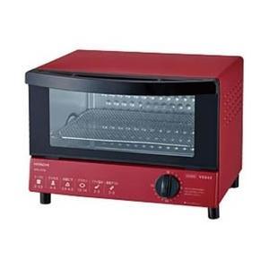HTO-CT30-R 日立 オーブントースター(1000W) レッド |l-nana
