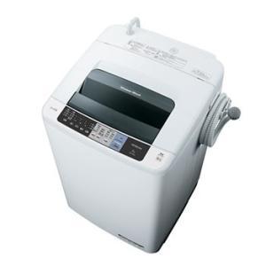NW-80A-W 日立 8kg 全自動洗濯機 白い約束 (ピュアホワイト)|l-nana