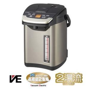 PIG-S300-K タイガー 3.0L 蒸気レスVE電気まほうびん とく子さん (ブラック)|l-nana