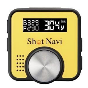 ShotNaviV1-Y ショットナビ GPSゴルフナビゲーションShot Navi V1イエロー|l-nana