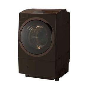 TW-127X8L-T 東芝 洗濯12kg ドラム式洗濯乾燥機 グレインブラウン l-nana