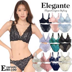 ★☆【Eカップ】ブラジャー ブラショーツセット 大きいサイズ 下着 レディース/E80 E85 E9...