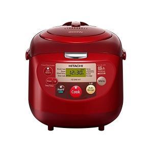 海外向け炊飯器 日立 RZ-DMD18Y-Red 10合 220-240V HITACHI 留学 出張 海外用炊飯器 変圧器不要 おいしいご飯 即納 当日発送 l-w