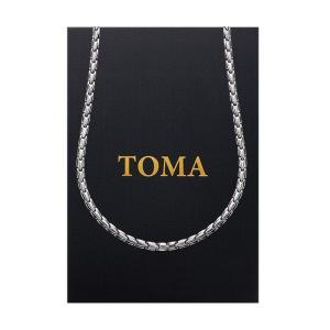 【訳あり、在庫処分】特価 日本製 TOMA 4MF 男・女 子弾形 磁気ネックレス ゲルマニウム 健康磁気アクセサリー 保証書付き 当日発送 あすつく|l-w