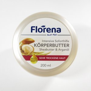 フロレナ ソフトクリーム  シアバター 200ml【Florena Soft Creme Organic farming Shea butter】|la-beaute-one