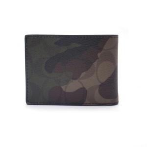 コーチ COACH 財布 カードケース 二つ折り財布 カモフラ 迷彩 /F11958 MGQ|la-blossoms
