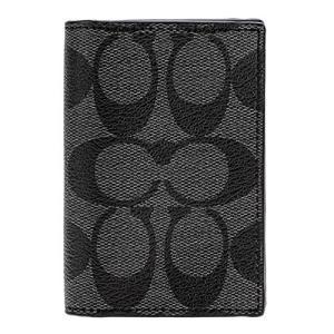 ☆コーチ メンズ カードケース PVC シグネチャー 小物 F12025-CQ/BK|la-blossoms