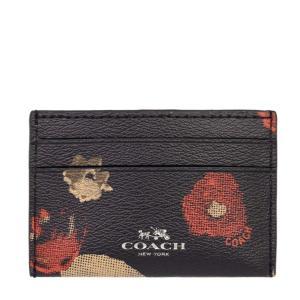 ☆ コーチ COACH ブラックマルチ カードケース レディース  アウトレット品 F56000-QB/M2|la-blossoms