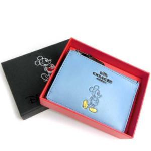 ☆56265B-DKEP4 コーチ コインケース COACH ッキーマウス Disney × Coach コラボレーション 限定商品 BOX付き la-blossoms