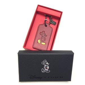 コーチ ディズニー ミッキーマウス ミッキー ハングタグ/56626B-DKRED|la-blossoms