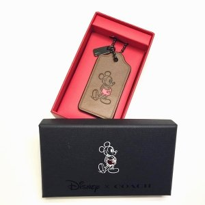 コーチ ディズニー ミッキーマウス ミッキー ハングタグ/56626B-DKSAD|la-blossoms