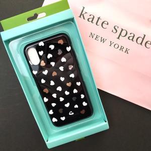 ケイトスペード iPhoneXS Maxケース iPhoneXS Maxカバー kate spade ハート /  8aru6051-007|la-blossoms
