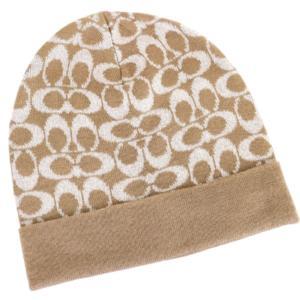 コーチ 帽子 シグネチャー ロゴ ニット キャップ/F56123-CAM la-blossoms
