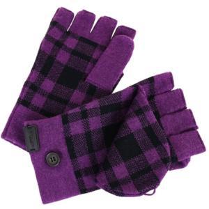 コーチ COACH アパレル 手袋 F56233 パープル AUB シグネチャー 手袋 レディース la-blossoms