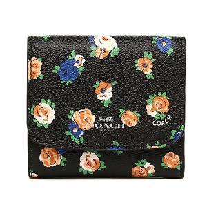 コーチ 財布  二つ折り/フローラルプリント コインケース/F57976-SVM2|la-blossoms