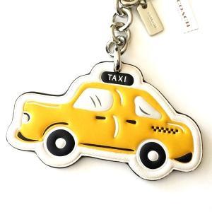 コーチ キーホルダー/ NYC タクシー ビッグ キーリング/F58508-SVYL|la-blossoms|02