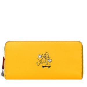 コーチ ディズニー ミッキーマウス ミッキー アコーディオン ジップ長財布/F58939-QBBAN la-blossoms