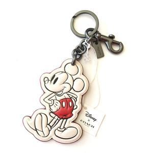 コーチ ディズニー ミッキーマウス ミッキー クラッシック  キーホルダー/F58994-BKCHK|la-blossoms