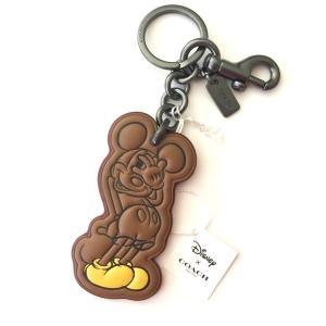 コーチ ディズニー  ミッキーマウス シャイ ミッキー キーホルダー/F59866-BKSAD|la-blossoms
