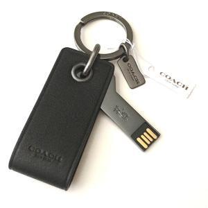 コーチ キーホルダー/ レザー 4GB USB メモリー キーリング/F64143|la-blossoms