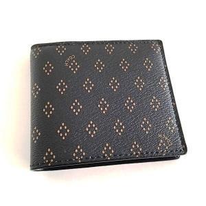 コーチ メンズ 財布/ダイヤモンド フーラード プリント レザー  二つ折りウォレット/F65971-F10 la-blossoms