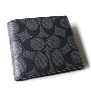 コーチ メンズ 財布/シグネチャー ウォレット/ F75083-CQBK|la-blossoms
