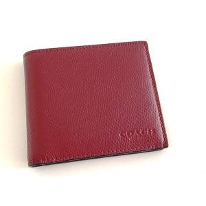 コーチ メンズ 財布/ クロスグレイン レザー 二つ折りウォレット/F75206 BCY la-blossoms