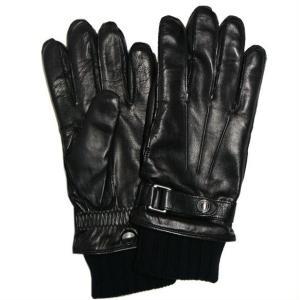 コーチ メンズ手袋 3イン1 グローブ  レザー ニットグローブ/F85859-IMBLK(M)|la-blossoms