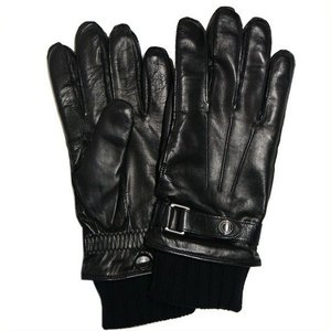 コーチ メンズ手袋 3イン1 グローブ  レザー ニットグローブ/F85859-IMBLK(S)|la-blossoms