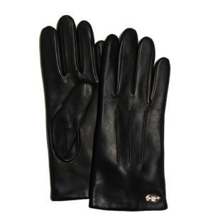 コーチ 手袋 ベーシック レザー グローブ/F85876-IMBLK(7)|la-blossoms