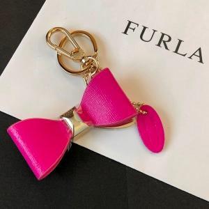フルラ キーホルダー リボン キーリング バックチャーム ピンク FULRA la-blossoms