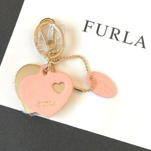 フルラ キーホルダー ハート キーリング バックチャーム ライトピンク FULRA la-blossoms