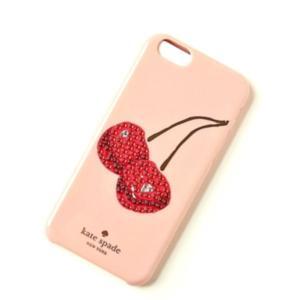 ☆ ケイトスペード ピンク Kate Spade iphone 6/6s ケース ビジューチェリー WIRU0466-974 la-blossoms
