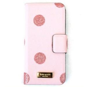 ☆ケイトスペード ドット柄 iPhone6/6s 手帳型 スマホケース WIRU0483-706 la-blossoms