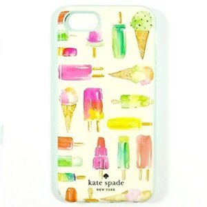ケイトスペード Kate Spade iphone7 ケース ice pop multi print アイスクリームイラスト WIRU0512-975|la-blossoms