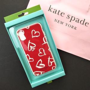 ケイトスペード アイフォンケー ス ハート iPhone XS/X (iPhone10) kate spade/WIRU1022-974|la-blossoms