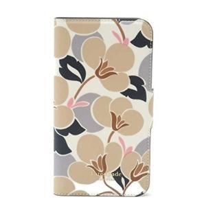 Kate Spade iPhoneX/XS ケース アイフォン 手帳型 花柄 / WIRU1091-166|la-blossoms