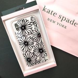 ケイトスペード アイフォンケース iPhone X max 対応 花柄 daisy / WIRU1117-001|la-blossoms