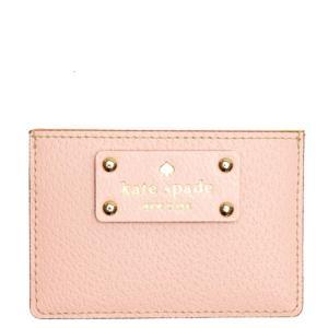 ☆ケイトスペード kate spade 小物 カードケース ペールピンク WLRU1147-694 la-blossoms