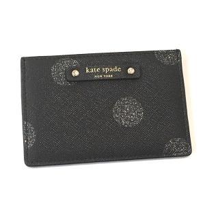 ケイトスペード 小物 グリッター カードケース/WLRU2692-474|la-blossoms