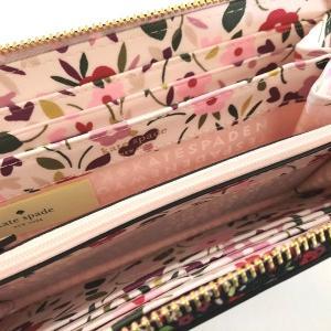 ケイトスペード 財布 長財布 フラワー neda laurel way ラウンドファスナー/WLRU5045-006|la-blossoms|05