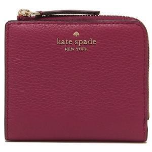 ケイトスペード 財布 アウトレット 二つ折り財布  L字ファスナー レッド / WLRU5471-616|la-blossoms