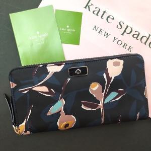 ケイトスペード 財布  長財布 花柄 フローラル フラワー kate spade/WLRU5556-098|la-blossoms