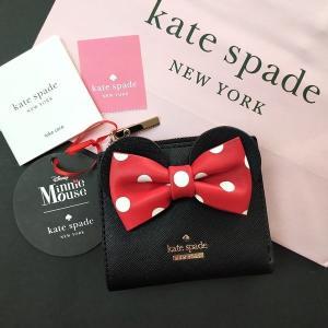 限定品 ケイトスペード ミニーマウス コラボ 財布 コインケース kate spade minie mouse /WLRU6026-001|la-blossoms