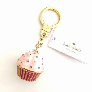 訳あり/kate spade/ケイトスペード カップケーキ キーホルダー/WORU0086-976|la-blossoms