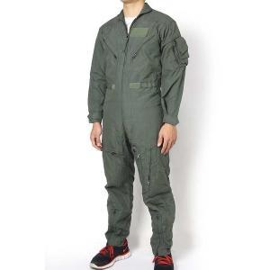 アメリカ軍用本物カバーオール  アラミド繊維で耐火素材 民間では手に入らない素材感  パイロット仕立...