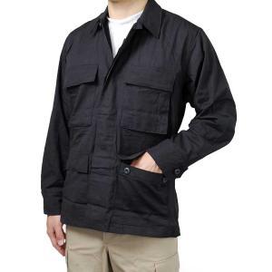 US.GI.BDU、ブラックジャケット(新品)A1BGI