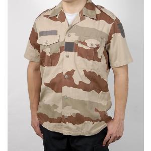 フランス軍本物カモファティーグシャツ  ******************************...
