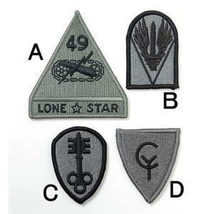 US.ACU.ベルクロ付、部隊章ワッペン(新品)B2