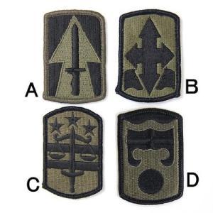 US.ミリタリー、OD.部隊章ワッペン(新品)2A